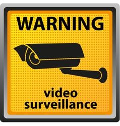 video surveillance camera 04 vector image vector image