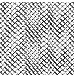 doodle abstract grid vector image