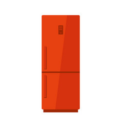 Fridge isolated vector