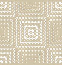 golden geometric ornamental seamless pattern with vector image