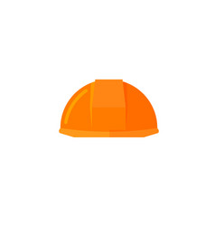 helmet construction icon flat vector image