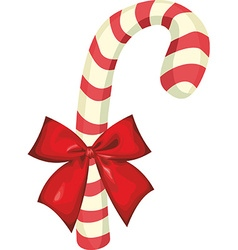 Candy Cane Object vector image vector image