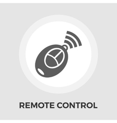 Remote control flat icon vector image