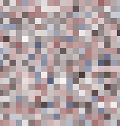 seamless pattern with colorful squares Brown and vector image vector image