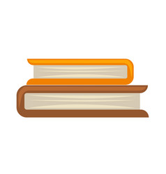 two books in roll vector image vector image