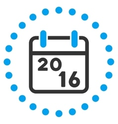2016 Organizer Icon vector