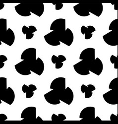 abstract background black and white vector image
