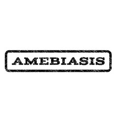 Amebiasis watermark stamp vector