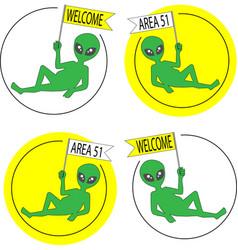 Area51 ufo vector