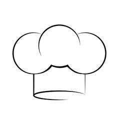 Chef hat icon Menu and kitchen design vector