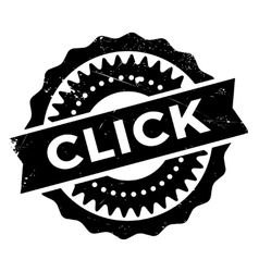Click rubber stamp vector
