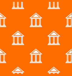colonnade pattern seamless vector image