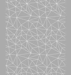 seamless polygonal pattern vector image