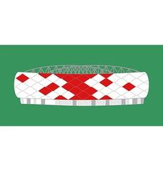 Sport stadium moscow vector