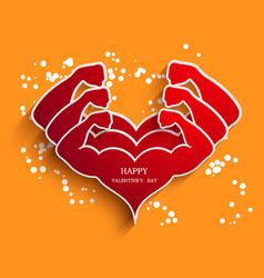 Valentines day background Eps10 vector