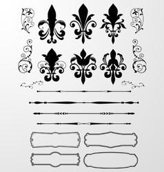 Classical Decorative Design Element vector image