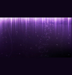 beautiful colorful background with bubbles and vector image