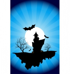 Halloween night vector image
