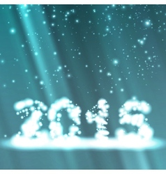 New Year celebration vector image