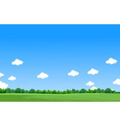 Beauty landscape background vector