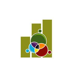 Business teamwork logo design template vector