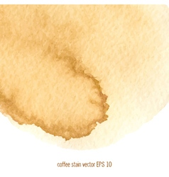 coffee abstract watercolor background vector image