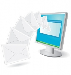 Emails vector