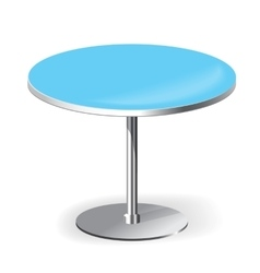 Empty Round Table vector