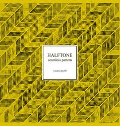 halftone herringbone pattern vector image
