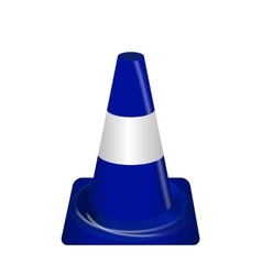 Road signs Blue Badge guardrails vector image
