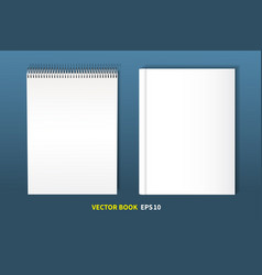 set of books-02 vector image