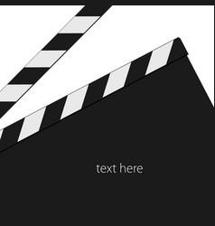 film tape signl black vector image