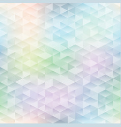 Stained glass seamless pattern vector image