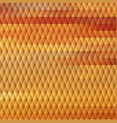 Sundown themed background with diamond grid vector image vector image