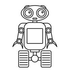 Automation Machine Outline Robot Vector Images Over 630
