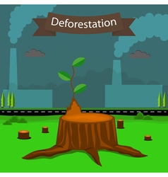 Deforestation2 vector