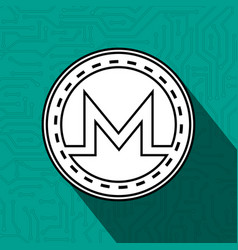 Electronic commerce with monero vector