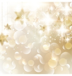 Elegant Christmas snowflakes and copyspace vector image