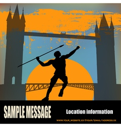 london athletics vector image