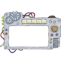 mechanical frame vector image