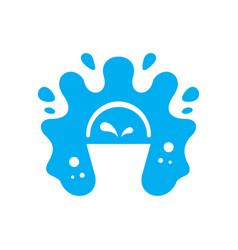 milk bucket sign vector image