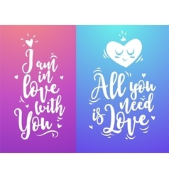 Modern typography design cute vector image