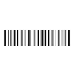 realistic barcode icon design for web and mobile vector image