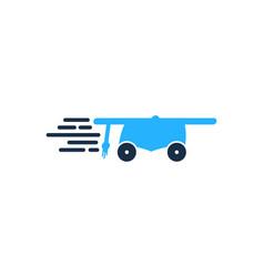 school delivery logo icon design vector image