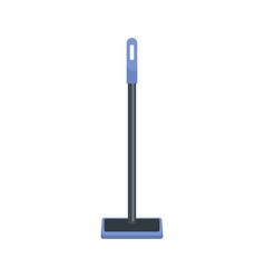 Sponge mop icon flat style vector