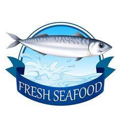 Tuna banner vector
