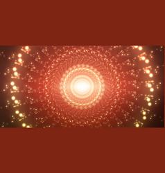 infinite space background matrix of vector image vector image