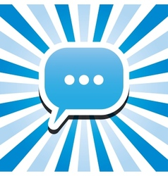 chat icon vector image vector image