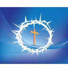 christian vector image
