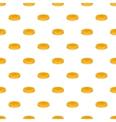 Button for clothing pattern cartoon style vector